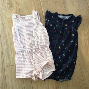 Carters [18M]- Lot of 2 Rompers